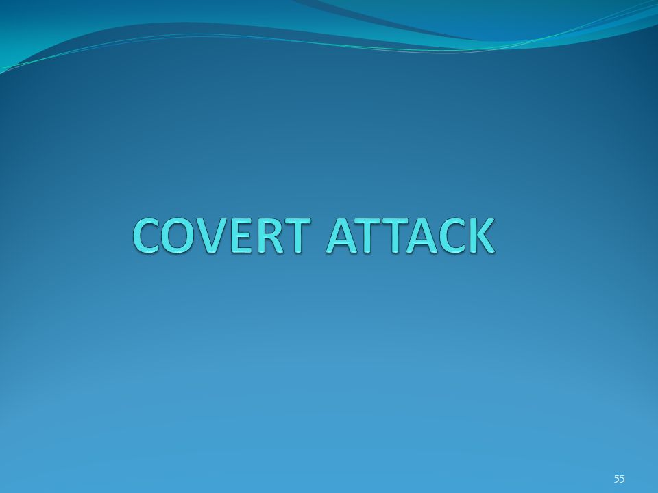 COVERT ATTACK