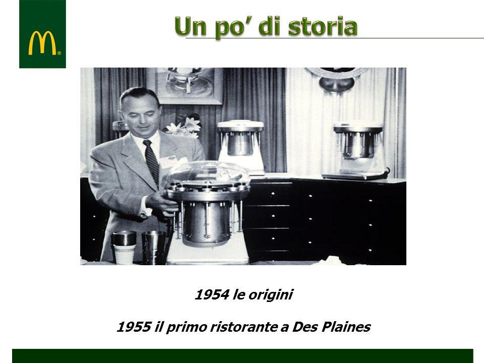 1955 il primo ristorante a Des Plaines