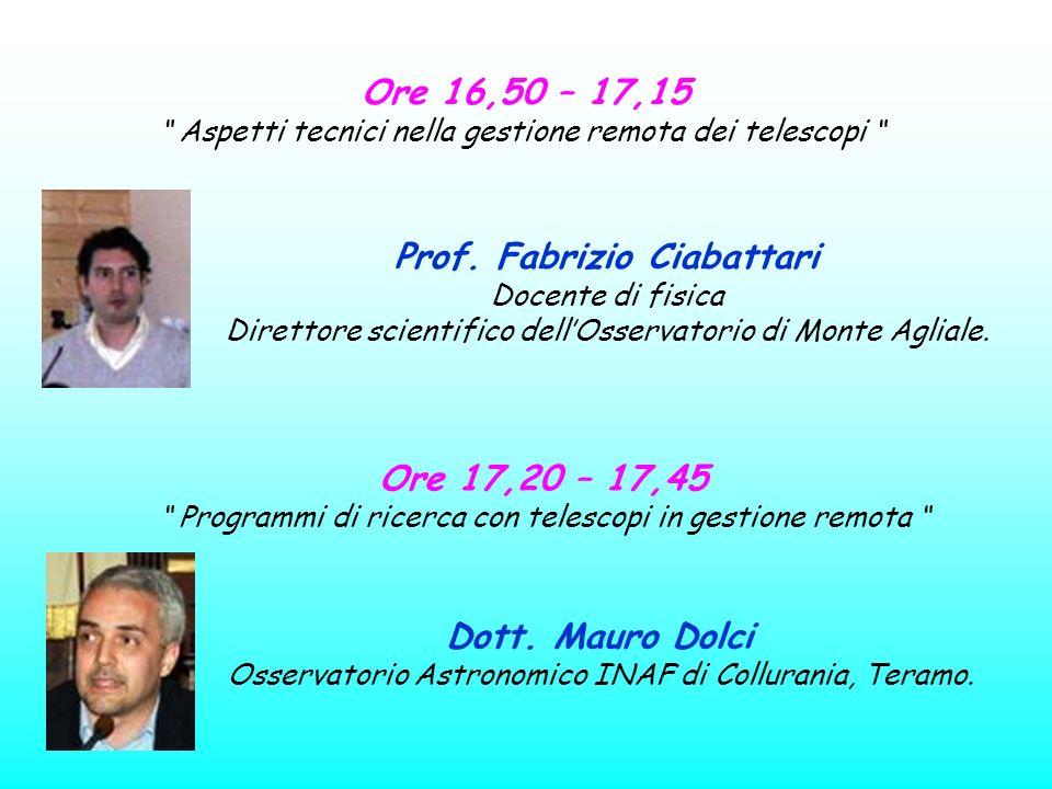 Prof. Fabrizio Ciabattari