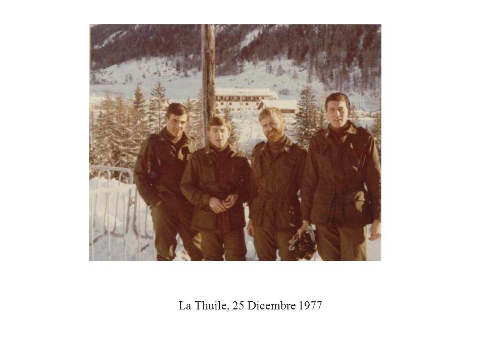 La Thuile, 25 Dicembre 1977