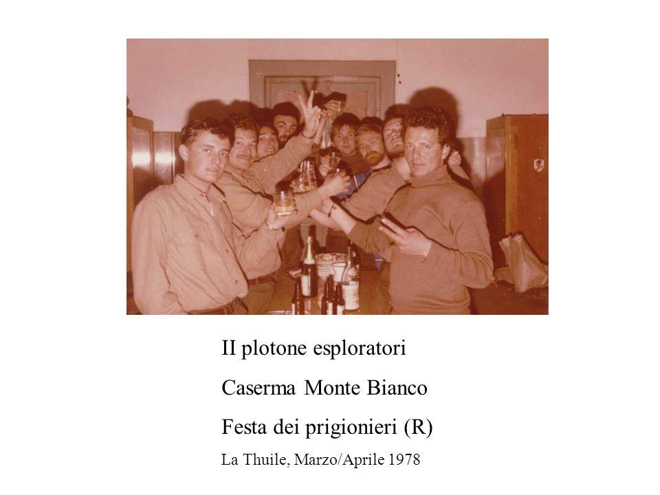 II plotone esploratori Caserma Monte Bianco Festa dei prigionieri (R)