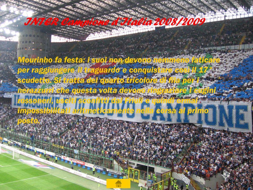 INTER Campione d'Italia 2008/2009