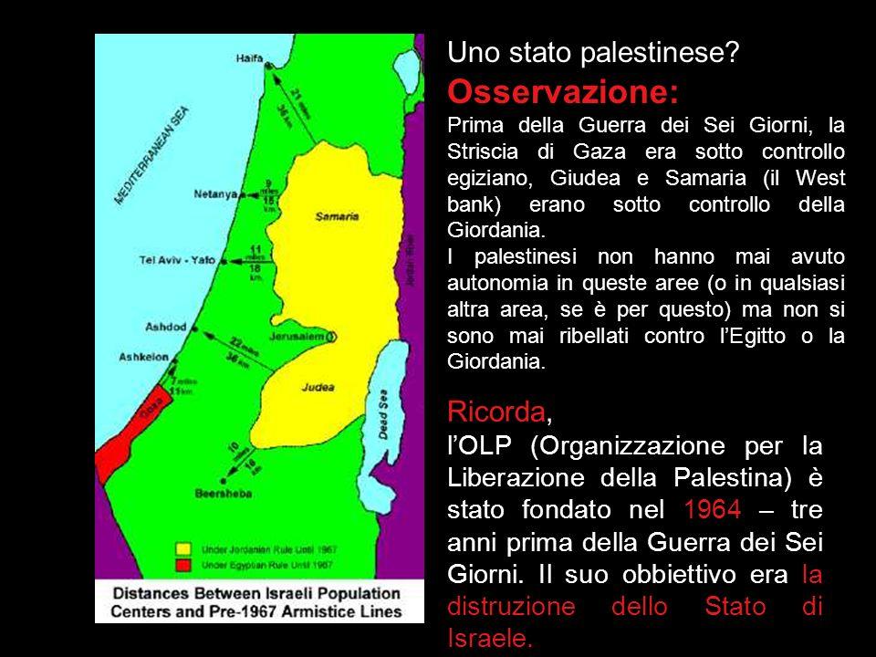 Osservazione: Uno stato palestinese Ricorda,
