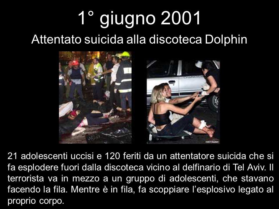 Attentato suicida alla discoteca Dolphin