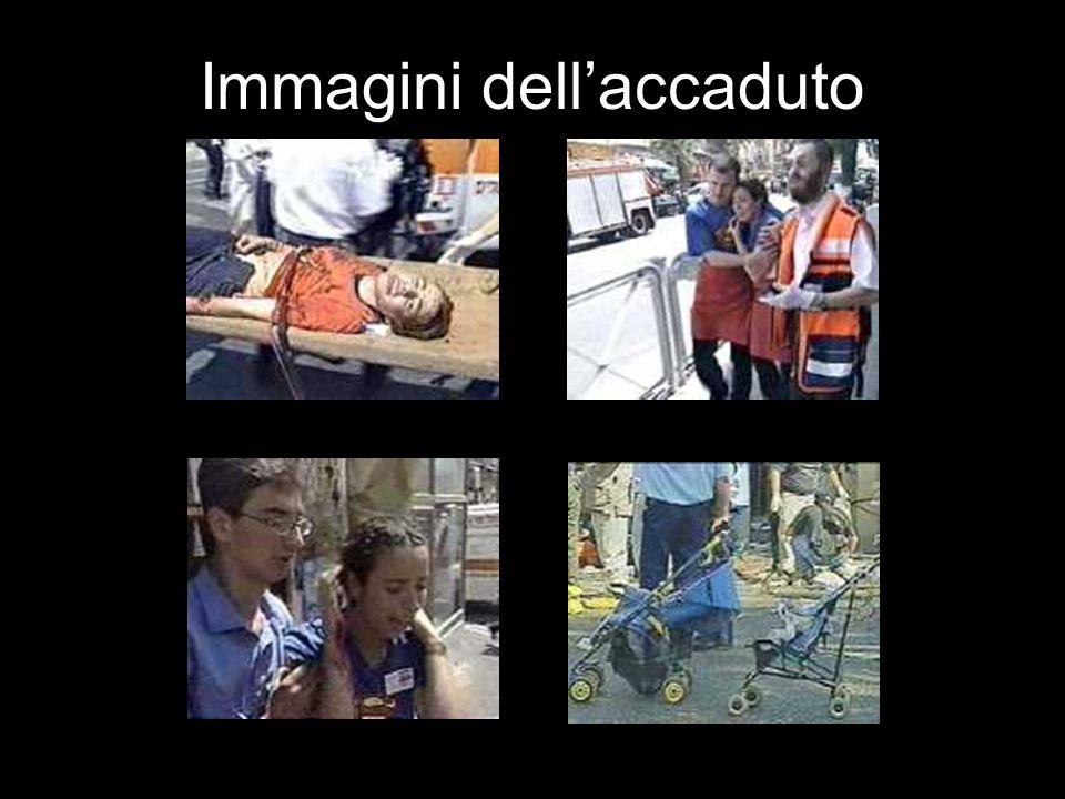 Immagini dell'accaduto