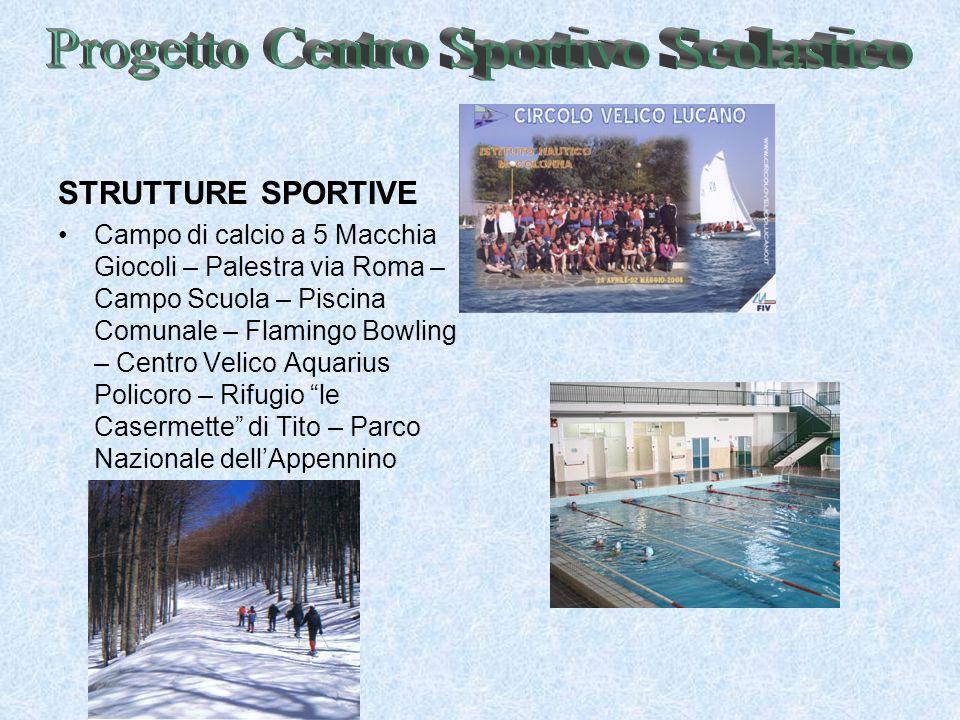 Progetto Centro Sportivo Scolastico