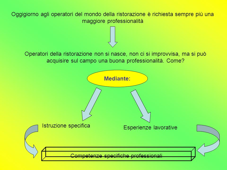 Competenze specifiche professionali