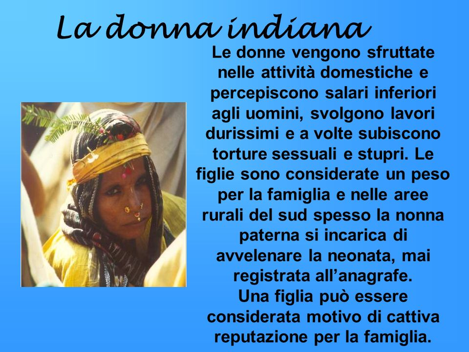 La donna indiana