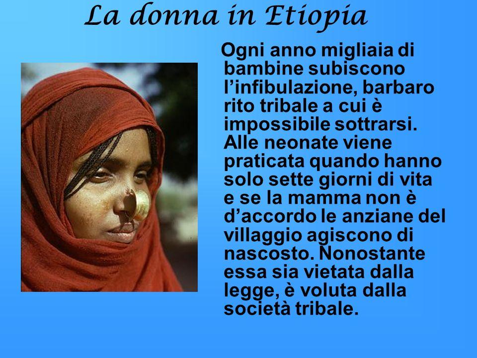 La donna in Etiopia