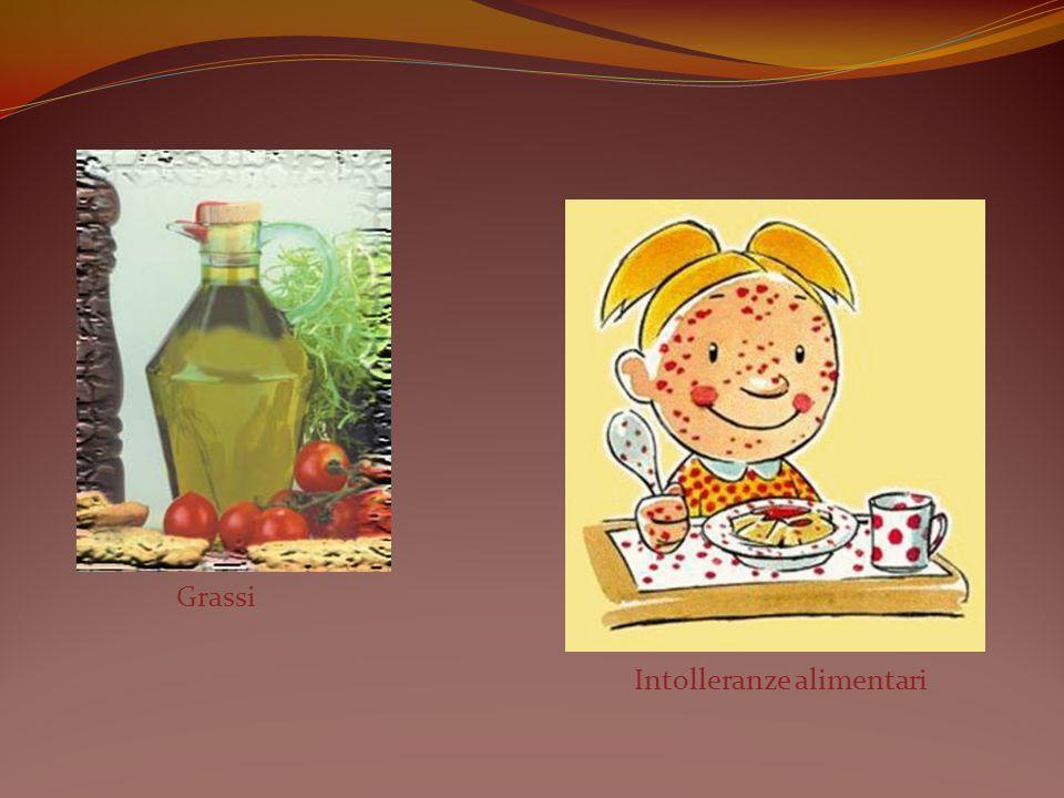 Grassi Intolleranze alimentari