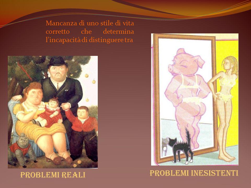 Problemi inesistenti Problemi reali