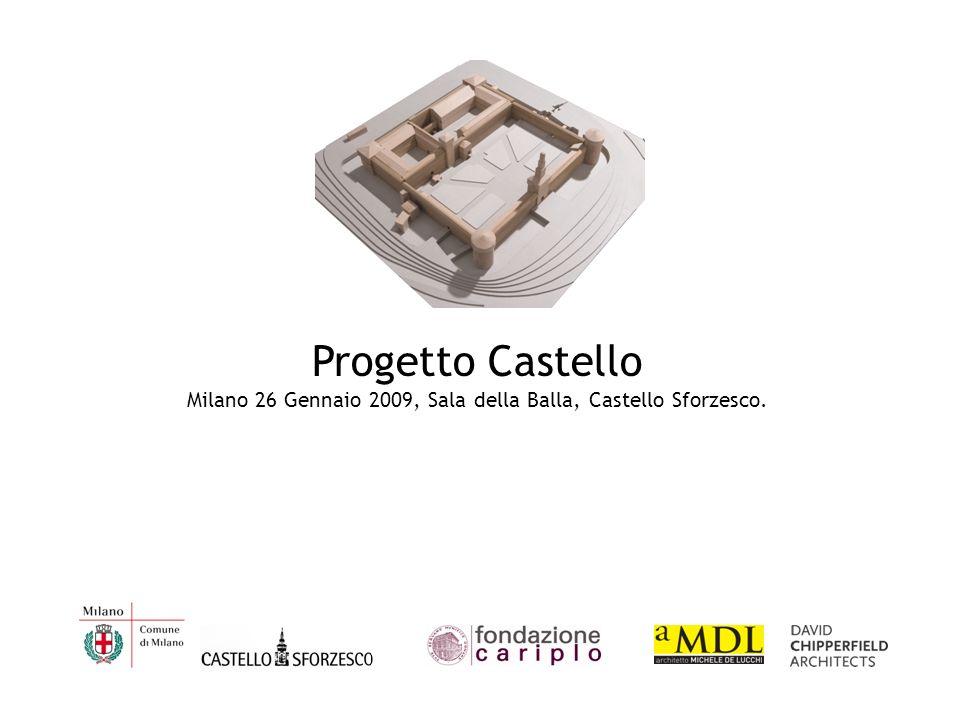 Milano 26 Gennaio 2009, Sala della Balla, Castello Sforzesco.