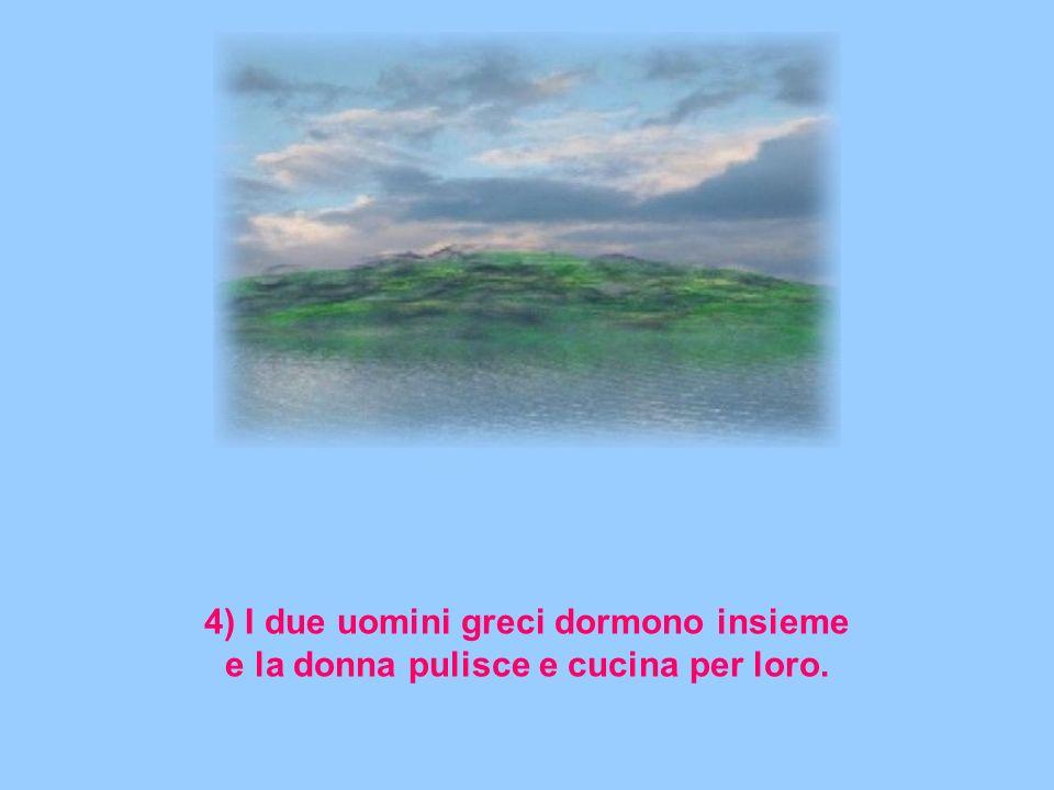 4) I due uomini greci dormono insieme