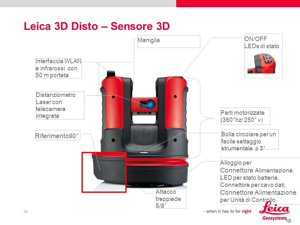 Leica 3D Disto – Sensore 3D