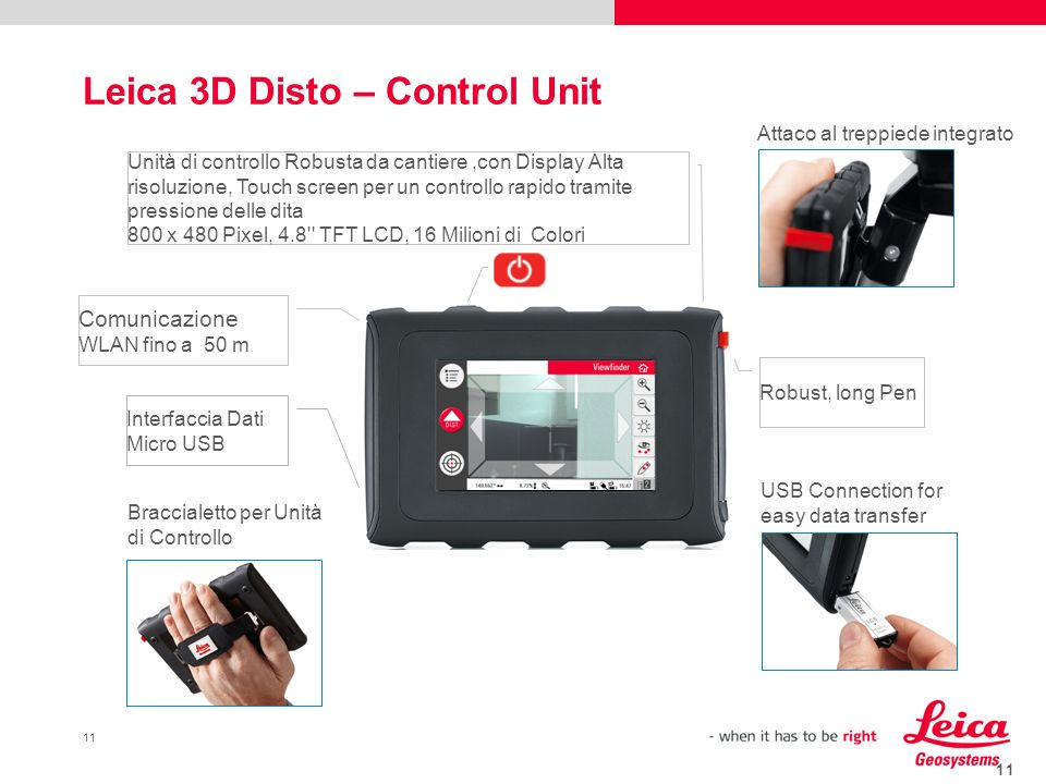 Leica 3D Disto – Control Unit
