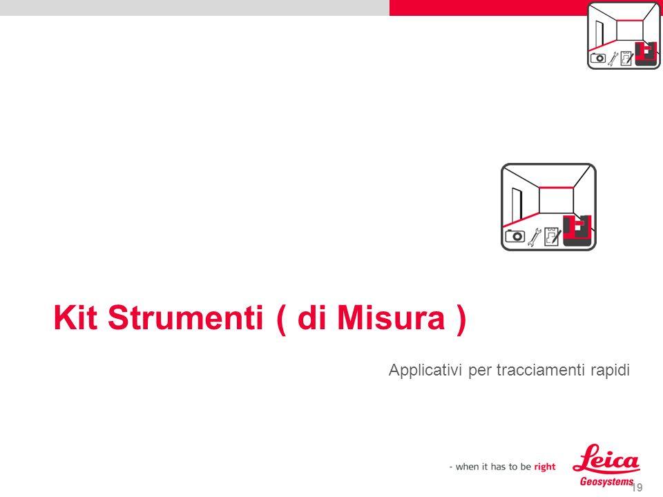 Kit Strumenti ( di Misura )