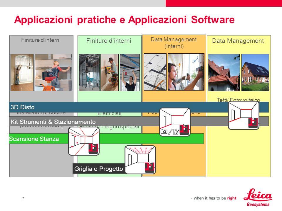 Applicazioni pratiche e Applicazioni Software