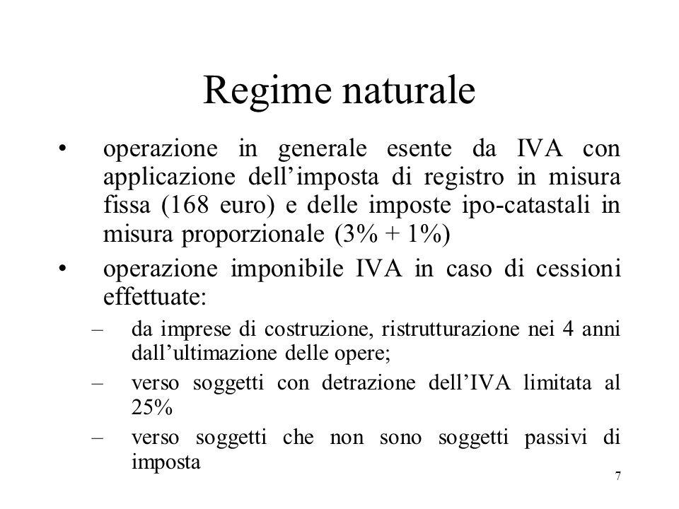 Regime naturale