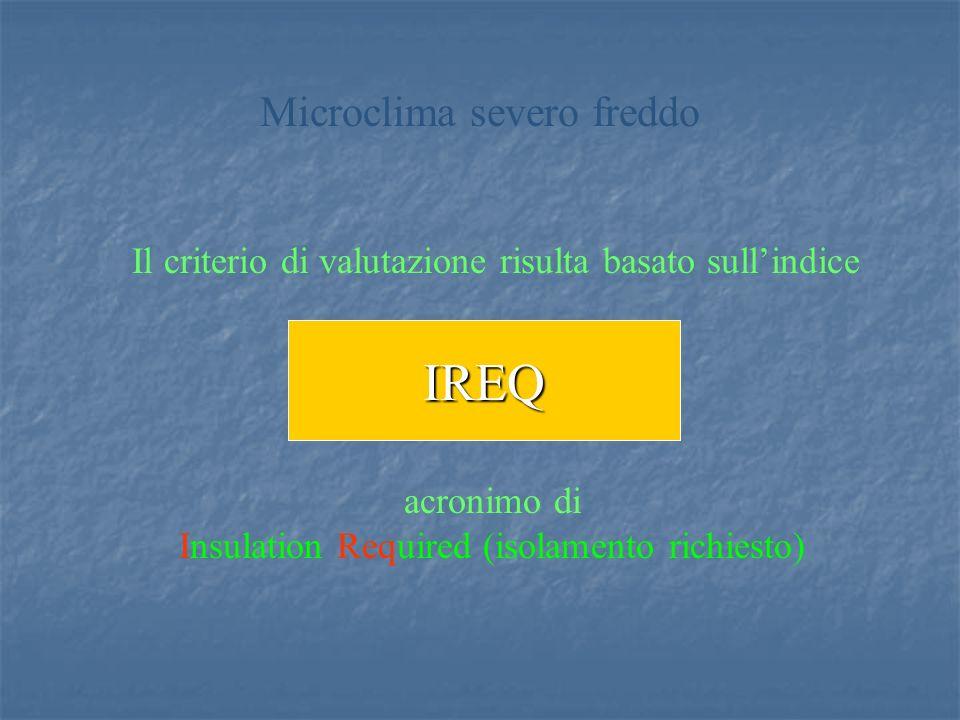 IREQ Microclima severo freddo