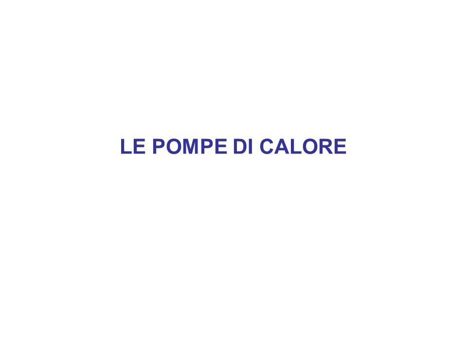 LE POMPE DI CALORE