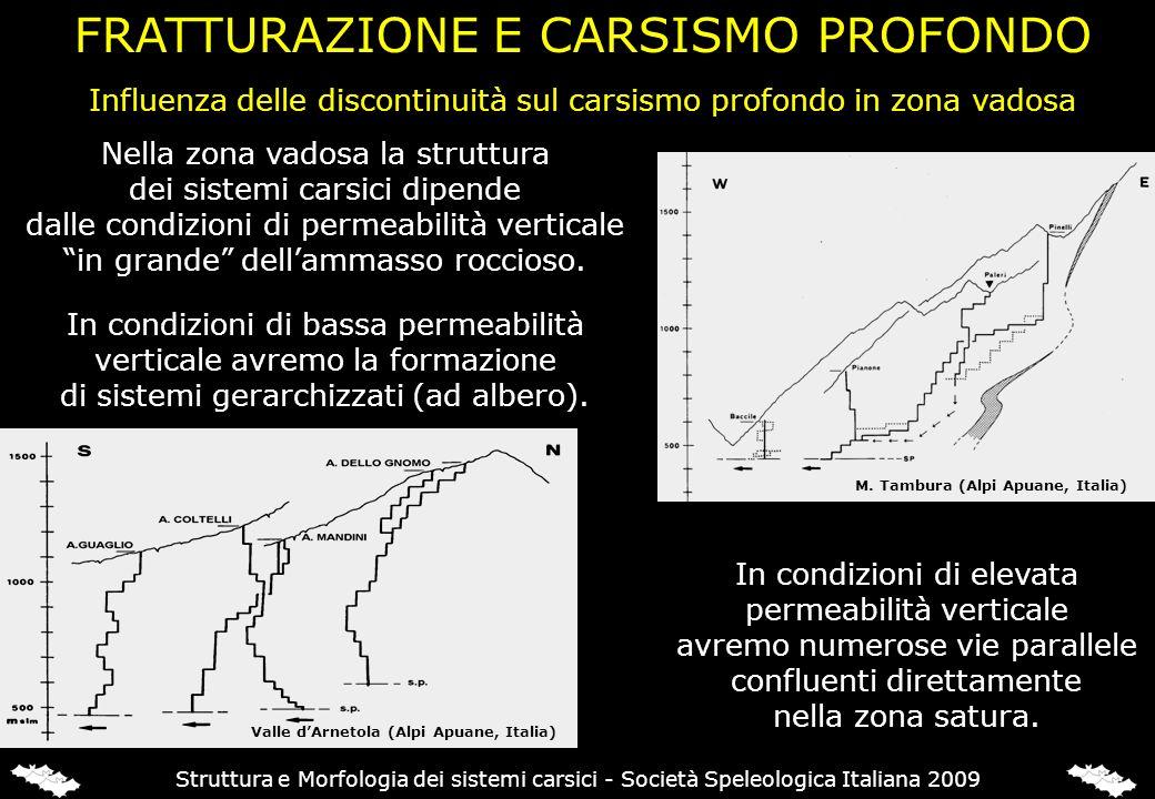 FRATTURAZIONE E CARSISMO PROFONDO