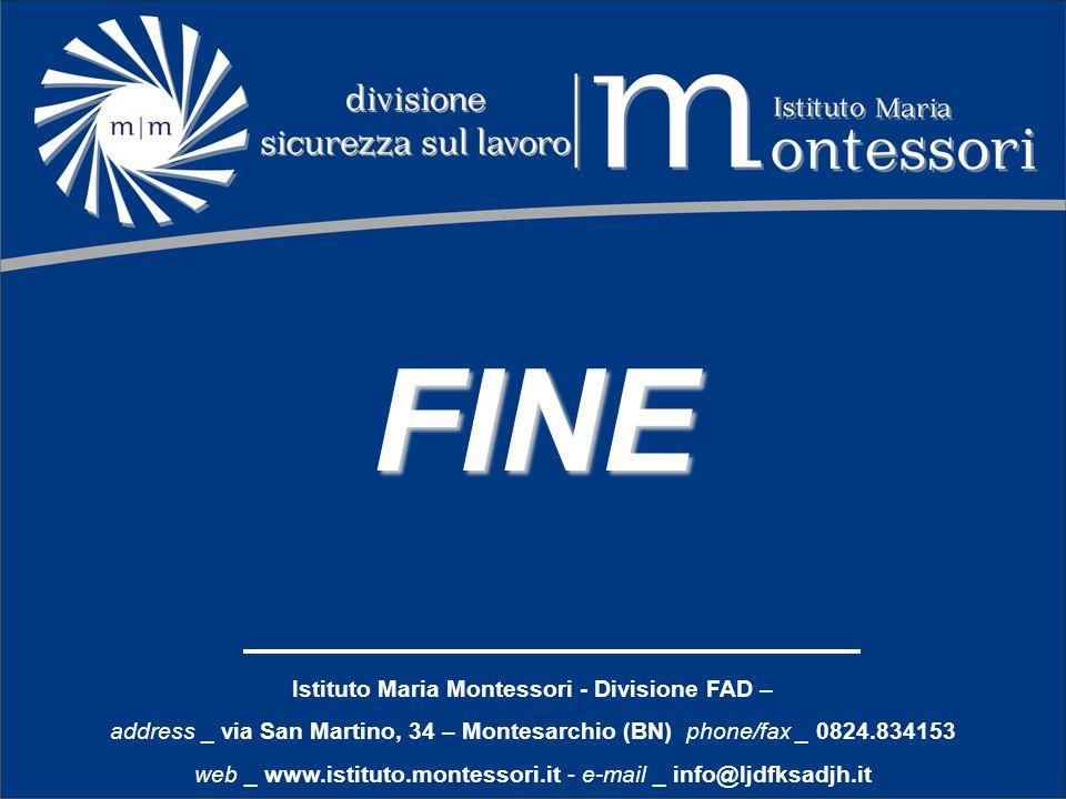 Istituto Maria Montessori - Divisione FAD –
