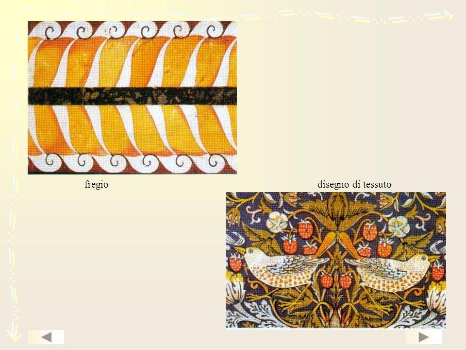 fregio disegno di tessuto