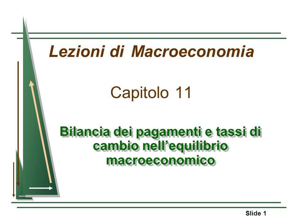 Lezioni di Macroeconomia Capitolo 11