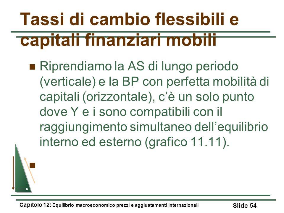 Tassi di cambio flessibili e capitali finanziari mobili