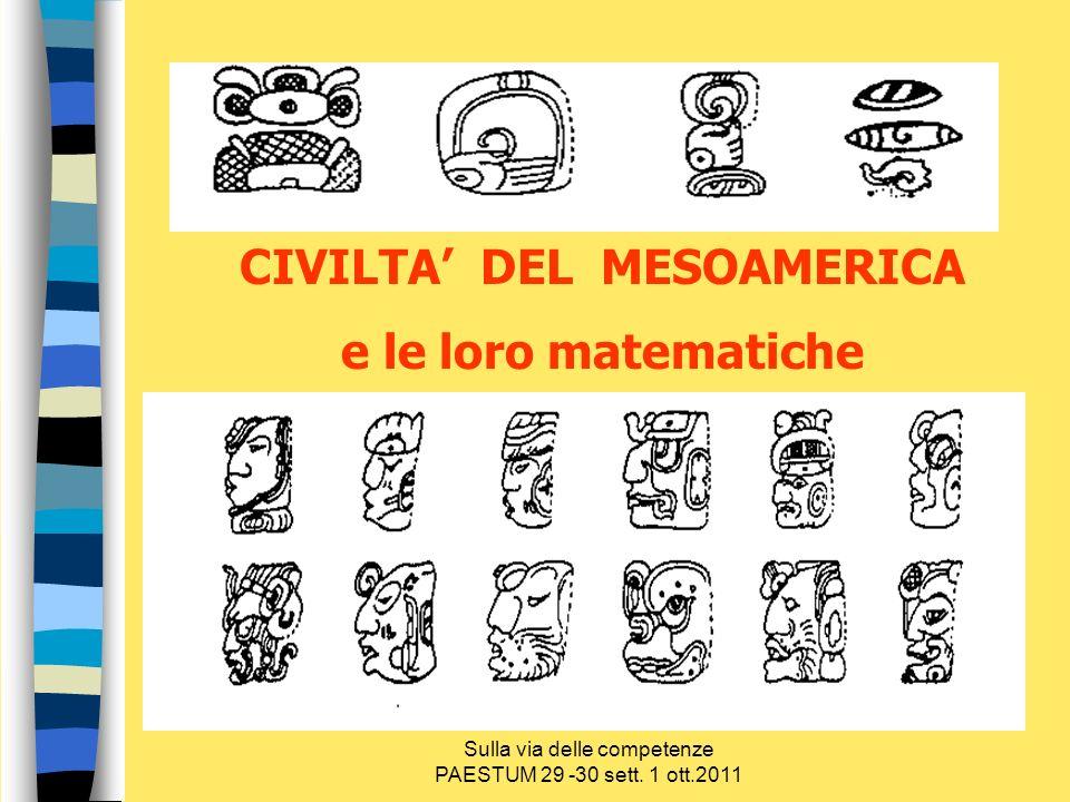 CIVILTA' DEL MESOAMERICA