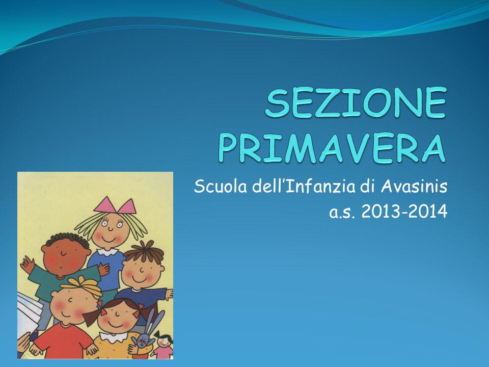 Scuola dell'Infanzia di Avasinis a.s. 2013-2014