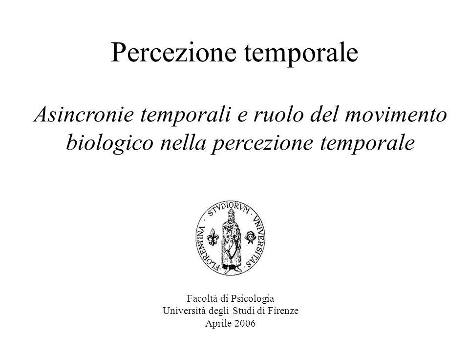Facoltà di Psicologia Università degli Studi di Firenze Aprile 2006
