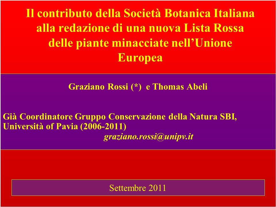 Graziano Rossi (*) e Thomas Abeli