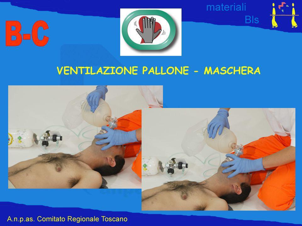 B-C VENTILAZIONE PALLONE - MASCHERA