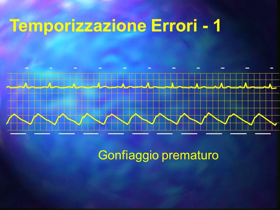 Temporizzazione Errori - 1