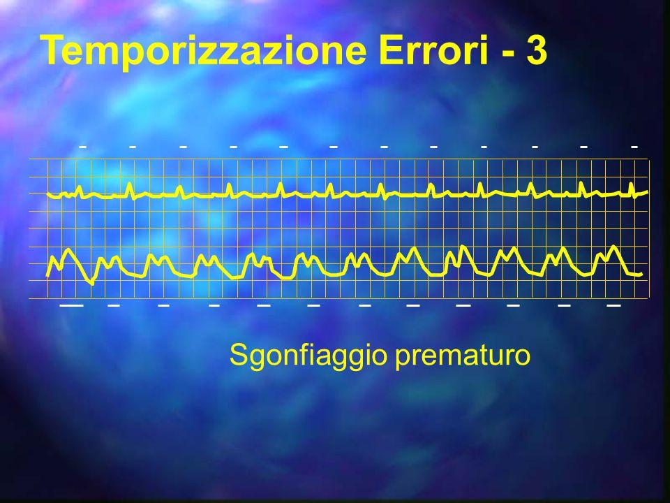 Temporizzazione Errori - 3