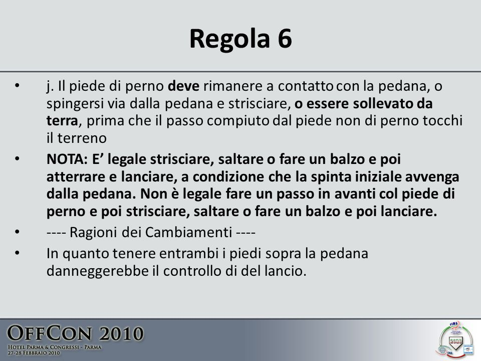 Regola 6