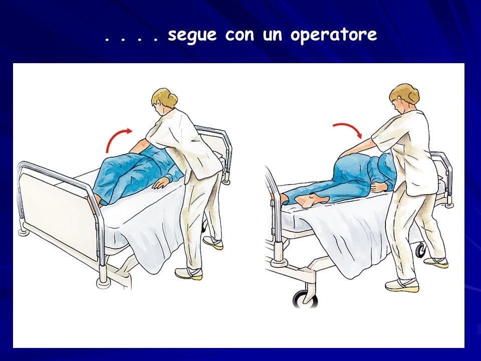 . . . . segue con un operatore