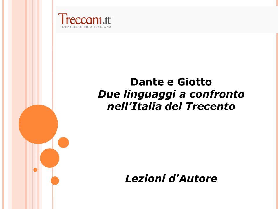Due linguaggi a confronto