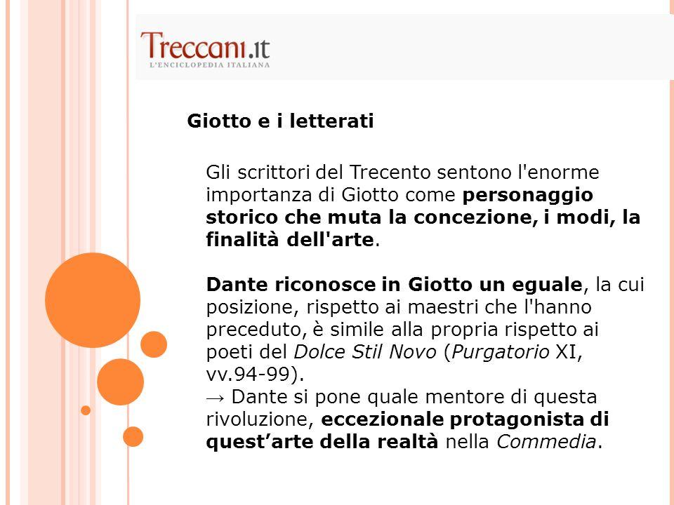 Giotto e i letterati