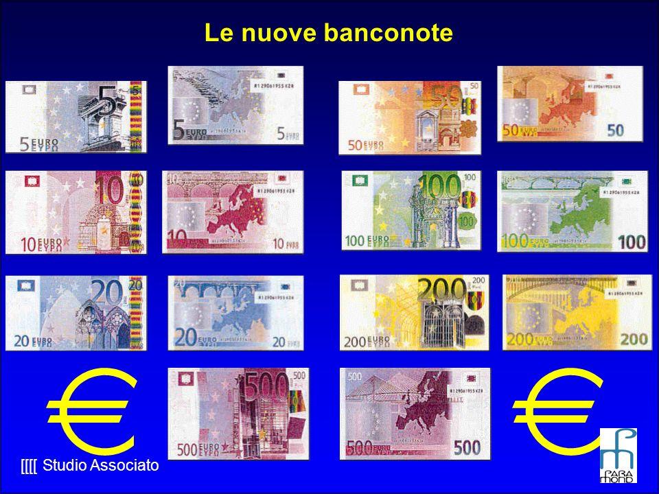 Le nuove banconote