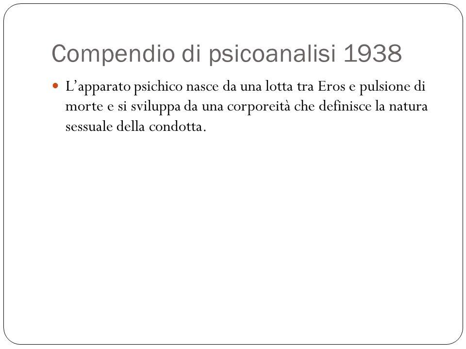 Compendio di psicoanalisi 1938