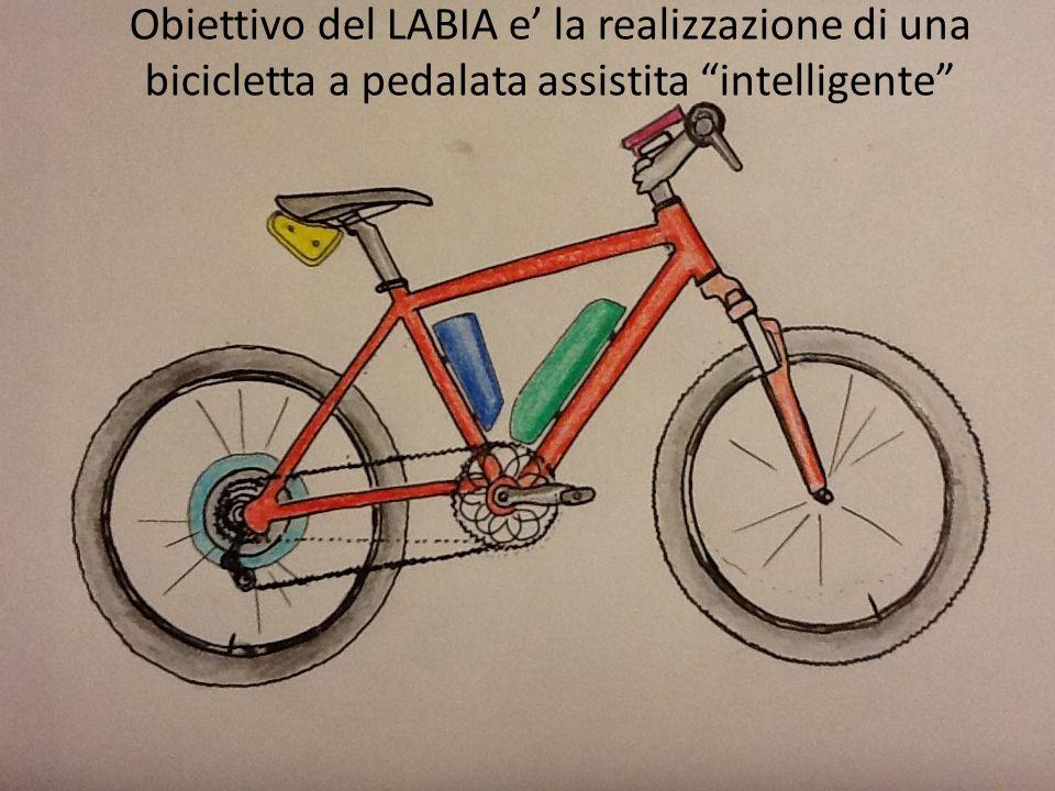 Obiettivo del LABIA e' la realizzazione di una bicicletta a pedalata assistita intelligente