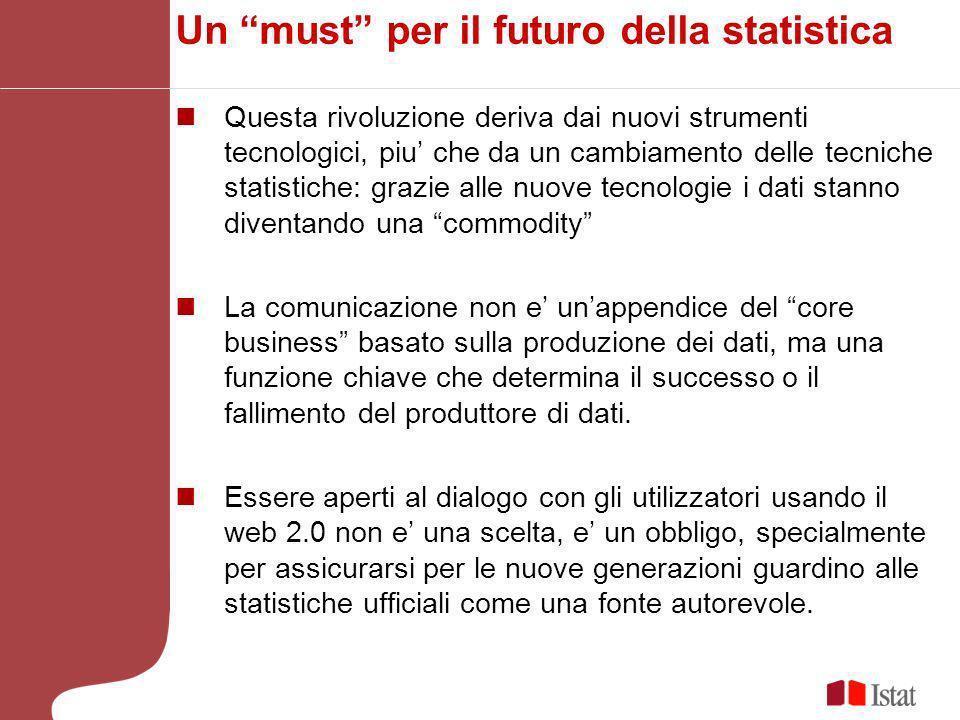 Un must per il futuro della statistica