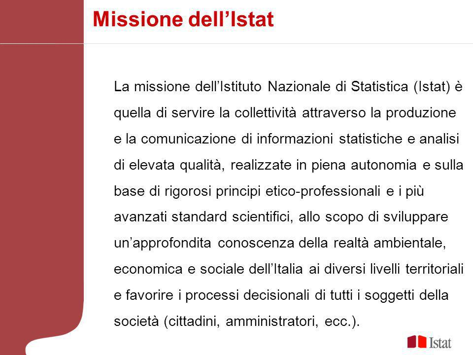 Missione dell'Istat