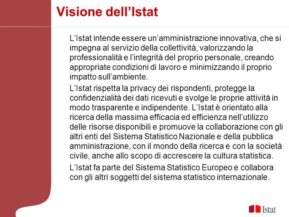 Visione dell'Istat