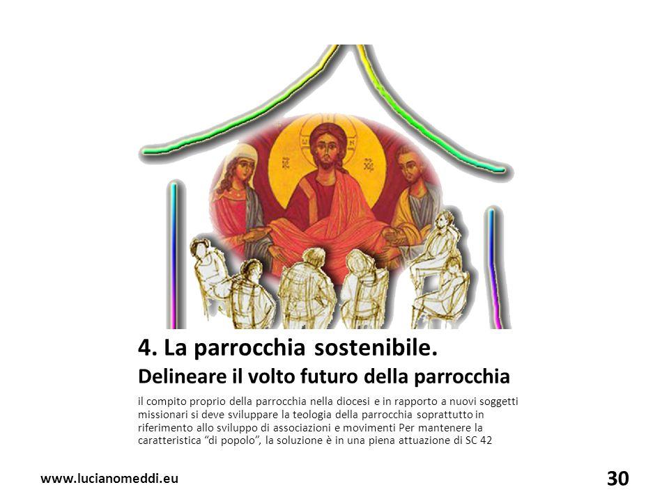 4. La parrocchia sostenibile