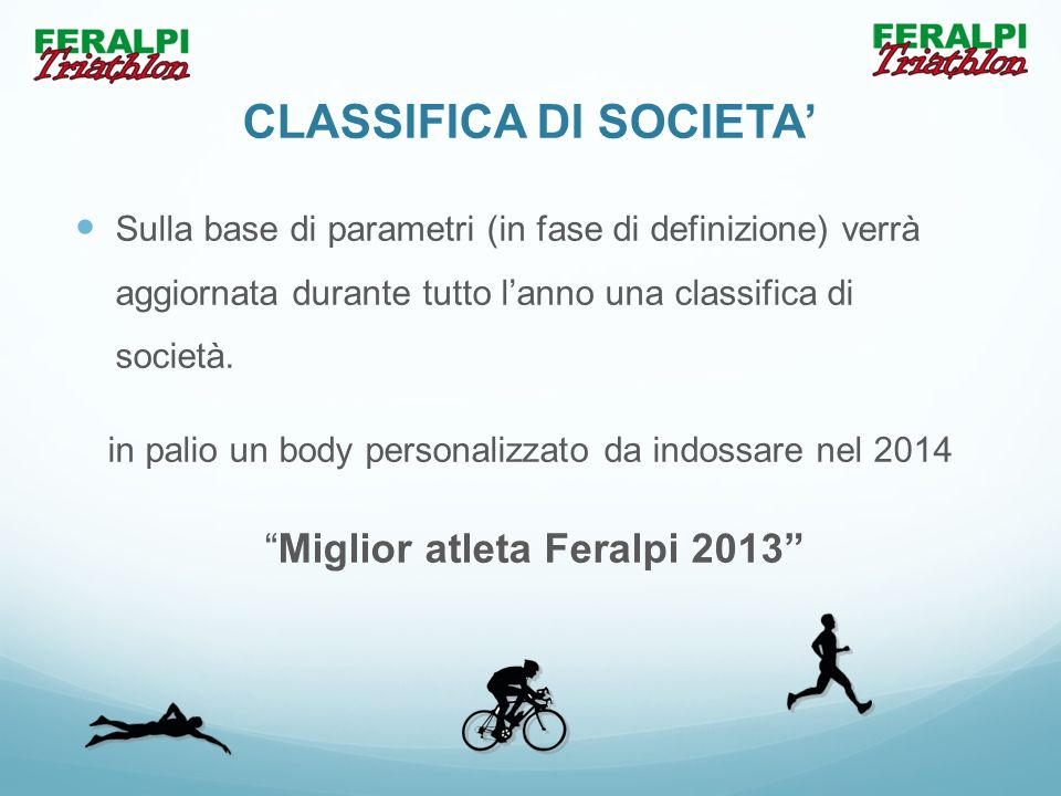 CLASSIFICA DI SOCIETA'
