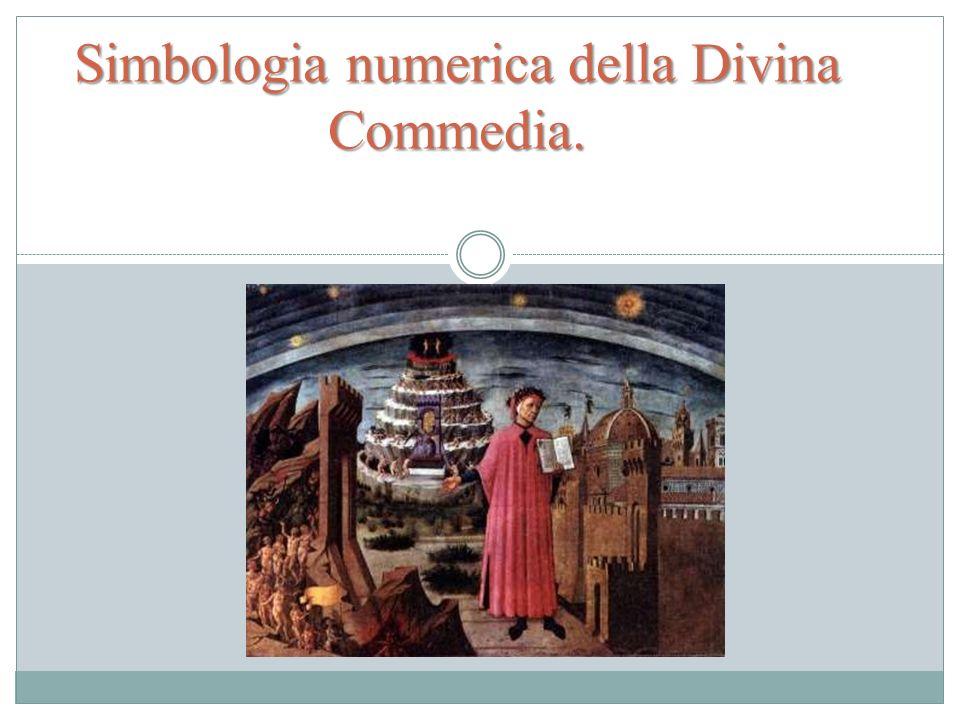 Simbologia numerica della Divina Commedia.