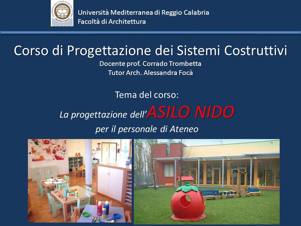 Corso di Progettazione dei Sistemi Costruttivi
